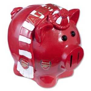 Arsenal Small Scarf Piggy Bank