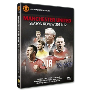 Manchester United 11/12 Season Review DVD
