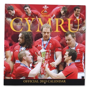 Welsh Rugby Union 2013 Calendar