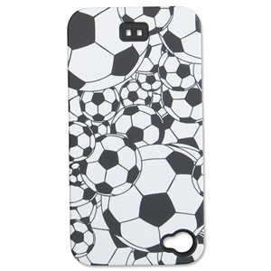 iPhone Cover Black w/ Soccer Balls