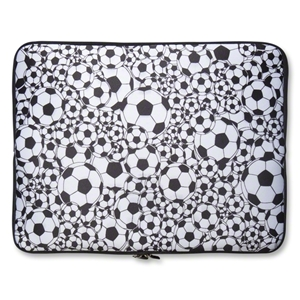 Soccer Ball Neoprene Laptop Cover 15
