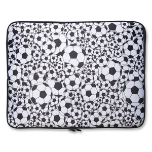 Soccer Ball Neoprene Laptop Cover 17