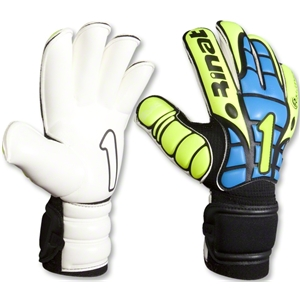 Rinat Gladiator II Goalkeeper Glove (Neon Yellow/Blue)