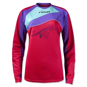 Rinat Women's Christina LS Goalkeeper Jersey (Raspberry)