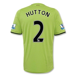 Aston Villa 12/13 HUTTON Away Soccer Jersey