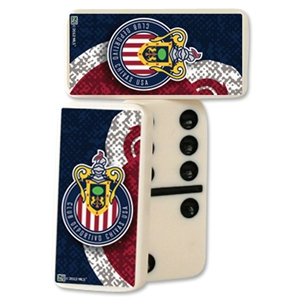 Chivas USA Double-Six Domino Set