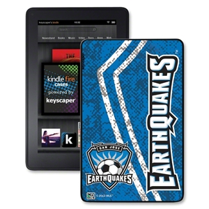 San Jose Earthquakes Kindle Fire Case