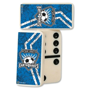 San Jose Earthquakes Double-Six Domino Set