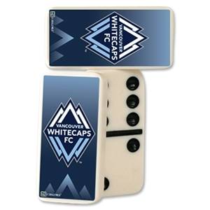 Vancouver Whitecaps Double-Six Domino Set