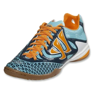 Warrior Skreamer Combat Junior IN (Blue Radiance/Bright Marigold/Insignia Blue)
