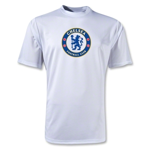Chelsea Crest Training T-Shirt (White)