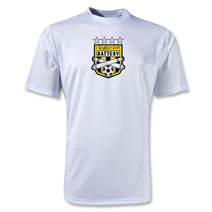 Charleston Battery Moisture Wicking Poly T-Shirt (White)