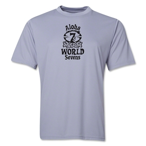 Aloha World Sevens Performance T-Shirt (Grey)