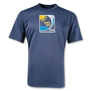 FIFA Beach World Cup 2013 Performance Emblem T-Shirt (Navy)