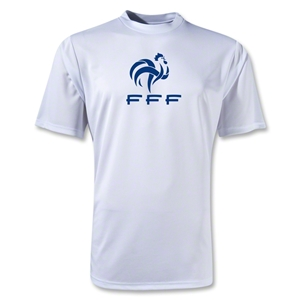France FFF Poly T-Shirt (White)
