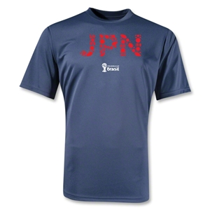 Japan 2014 FIFA World Cup Brazil(TM) Training T-Shirt (Navy)