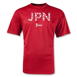Japan 2014 FIFA World Cup Brazil(TM) Training T-Shirt (Red)