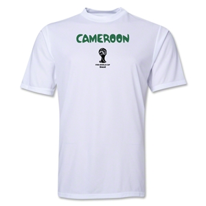 Cameroon 2014 FIFA World Cup Brazil(TM) Men's Core Training T-Shirt (White)