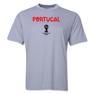 Portugal 2014 FIFA World Cup Brazil(TM) Men's Core Training T-Shirt (Grey)