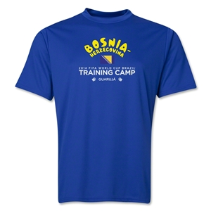 Bosnia-Herzegovina 2014 FIFA World Cup Brazil(TM) Men's Training Camp T-Shirt (Royal)