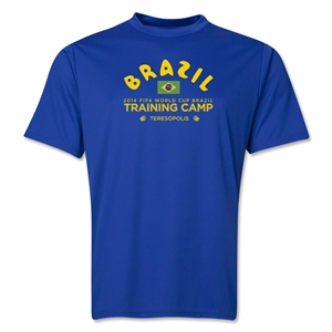 Brazil 2014 FIFA World Cup Brazil(TM) Men's Training Camp T-Shirt (Royal)