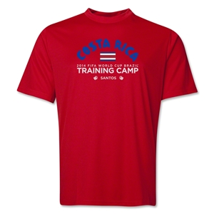 Costa Rica 2014 FIFA World Cup Brazil(TM) Men's Training Camp T-Shirt (Red)