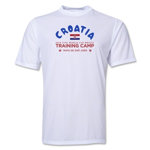 Croatia 2014 FIFA World Cup Brazil(TM) Men's Training Camp T-Shirt (White)
