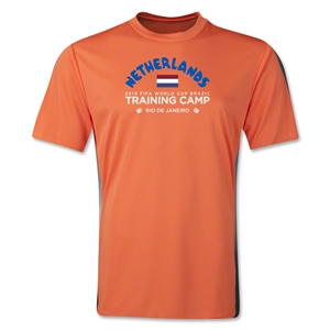 Netherlands 2014 FIFA World Cup Brazil(TM) Men's Training Camp T-Shirt (Orange)