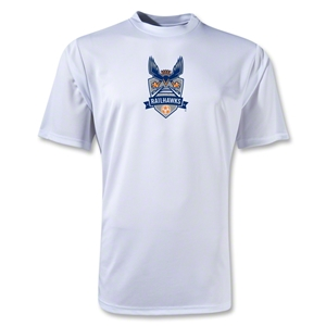 Carolina Railhawks Moisture Wicking Poly T-Shirt (White)