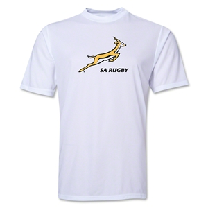 South Africa Springboks Performace T-Shirt (White)