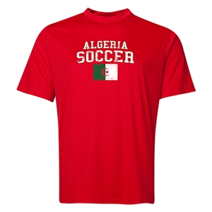 Algeria Soccer Training T-Shirt (Red)