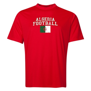 Algeria Football Training T-Shirt (Red)