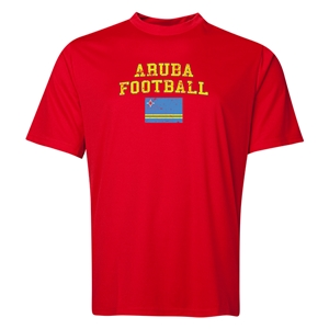 Aruba Football Training T-Shirt (Red)
