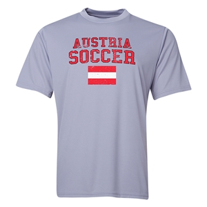 Austria Soccer Training T-Shirt (Grey)