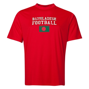 Bangladesh Football Training T-Shirt (Red)
