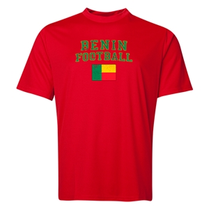 Benin Football Training T-Shirt (Red)