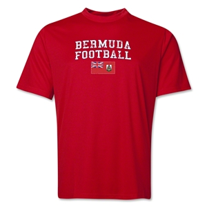 Bermuda Football Training T-Shirt (Red)