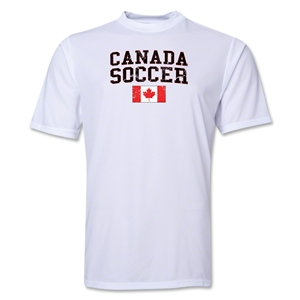 Canada Soccer Training T-Shirt (White)