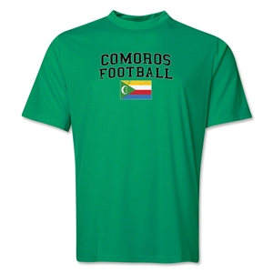 Comoros Football Training T-Shirt (Green)