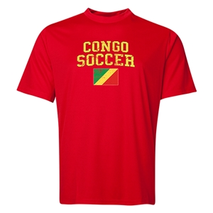 Congo Soccer Training T-Shirt (Red)