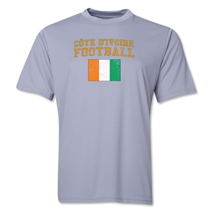 Cote d'Ivoire Football Training T-Shirt (Grey)