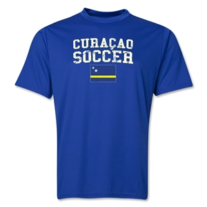 Curacao Soccer Training T-Shirt (Royal)