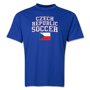 Czech Republic Soccer Training T-Shirt (Royal)