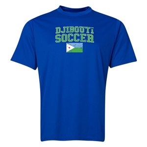 Djibouti Soccer Training T-Shirt (Royal)