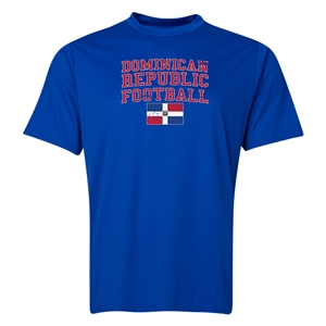 Dominican Republic Football Training T-Shirt (Royal)