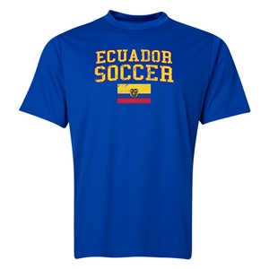 Ecuador Soccer Training T-Shirt (Royal)