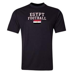 Egypt Football Training T-Shirt (Black)