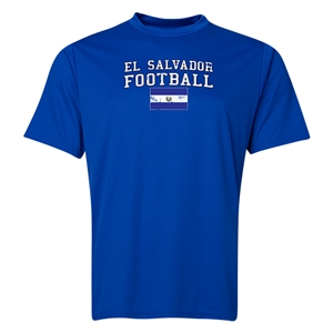 El Salvador Soccer Training T-Shirt (Royal)