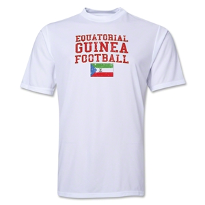 Equatorial Guinea Football Training T-Shirt (White)