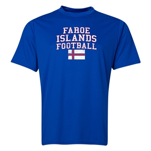 Faroe Islands Football Training T-Shirt (Royal)